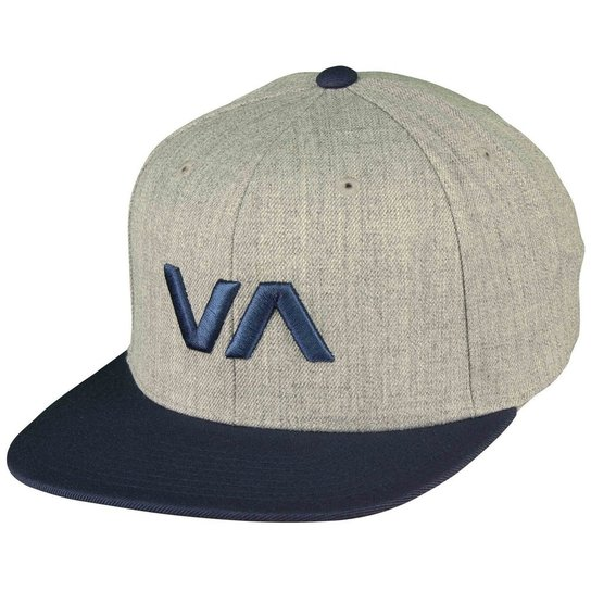 Boné RVCA Snap VA II Class R - Cinza e Azul - Compre Agora  cefa82aceab