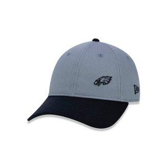 Boné 920 Philadelphia Eagles NFL Aba Curva Strapback New Era 2e2b7811354