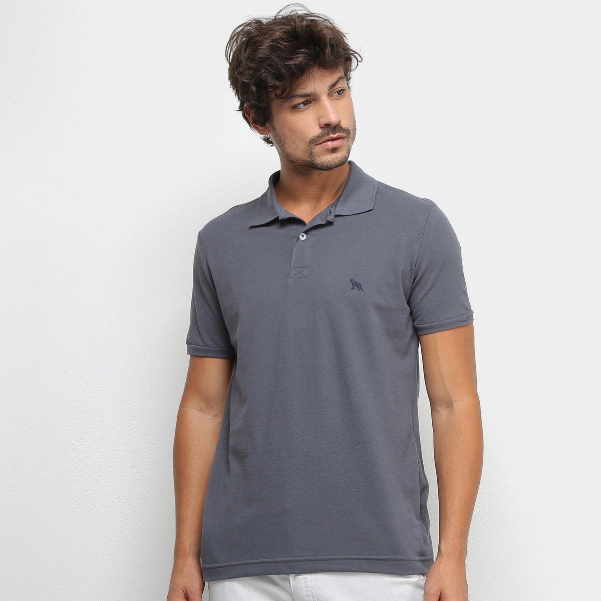 Camisa Polo Acostamento Masculina - Tam: GG