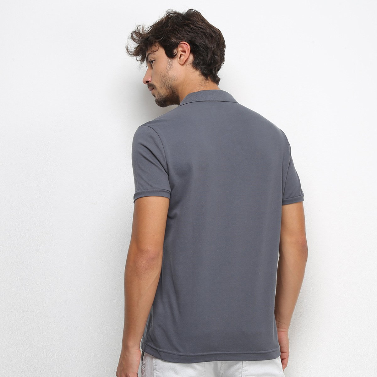 Camisa Polo Acostamento Masculina - Tam: GG - 1