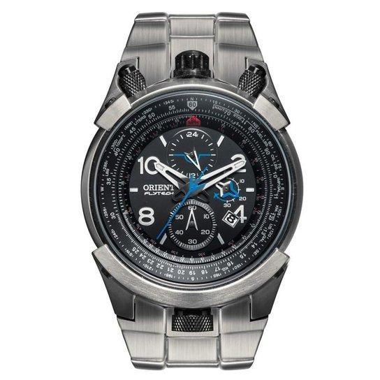 1f627f345c1f8 Relógio Orient Masculino FlyTech - MBTTC008 P2GX - Chumbo - Compre ...