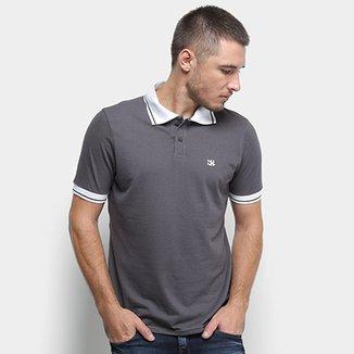 440388aa90 Camisa Polo Derek Ho Friso Logo Dkho Masculina