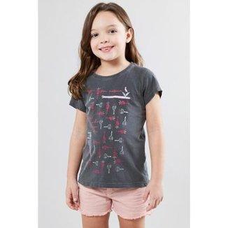 43f0727b13 Camiseta Infantil Chocalhos Reserva Mini Feminina