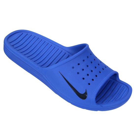 f4b16729e Chinelo Nike Solarsoft Slide - Azul Royal