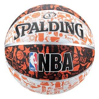 Bola de Basquete NBA Spalding Graffiti Tam 7 d3a4487dd21c1