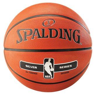 0e08937337 Bola de Basquete NBA Spalding Silver Series Tam 7