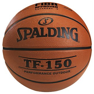 Bola Basquete FIBA Spalding TF-150 Performance Outdoor Tam. 7 6bc101b33d3ab