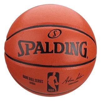 Bola Basquete NBA Spalding Game Ball Réplica I 2014 Tam 7 2717a64870d28