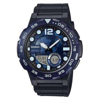 5d8eb231f3b Relógio Casio Ana-Digi AEQ-100W