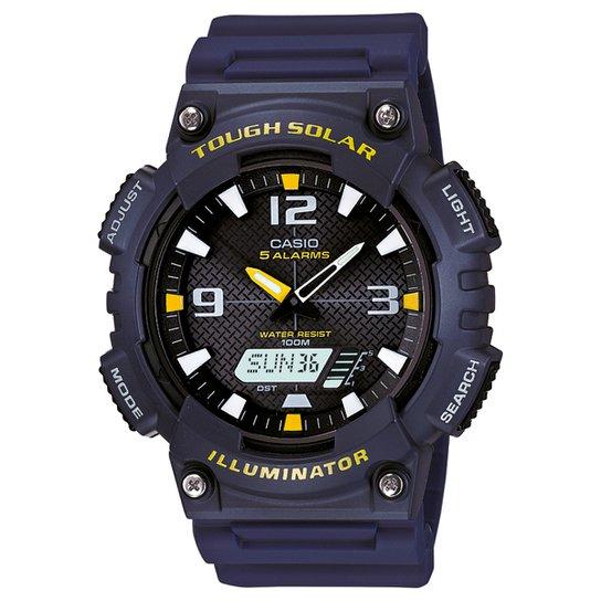 4159f613113 Relógio Casio Analógico Digital AQ-S810W-2AVDF - Azul Escuro ...