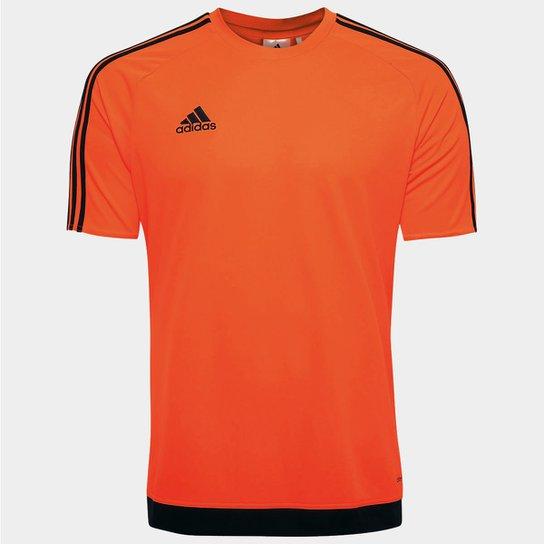 57800ddb63 Camisa Adidas Estro 15 Masculina - Laranja Escuro - Compre Agora ...