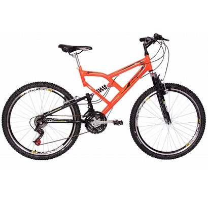Bicicleta Mormaii Full Susp Big Rider 24 V - Aro 26