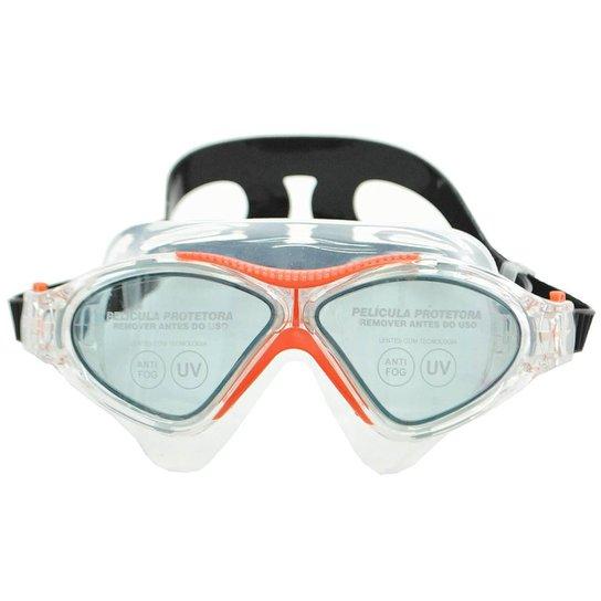 5cff2c201 Óculos Speedo Omega Swim Mask - Laranja | Netshoes