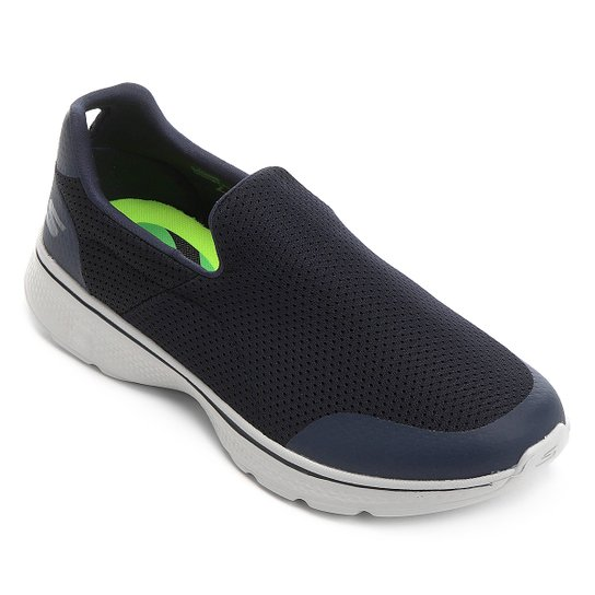 3ddd4c86c58 Tênis Skechers Go Walk 4 - Incredible - Azul Escuro - Compre Agora ...