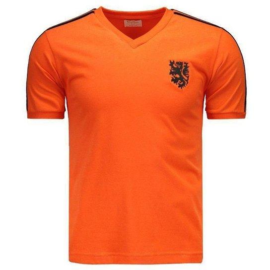 addb99f2fc0f9 Camisa Liga Retrô Holanda 1974 - Compre Agora