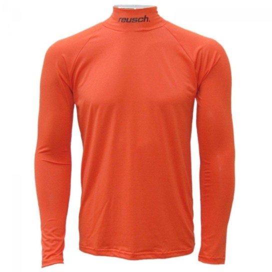 3c7f2d947f Camisa térmica Reusch Underjersey G A - Laranja - Compre Agora ...