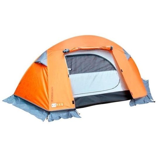 bc31ef051 Barraca Camping 1 Pessoa Minipack Da Azteq - Nautika - Laranja