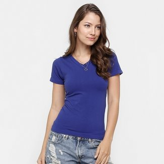 39d7e24cd1 Blusa Blue Bay Decote V