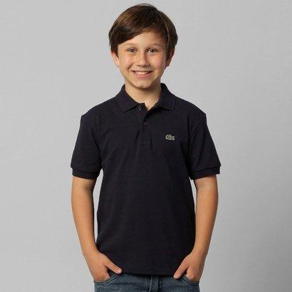 Camisa Polo Lacoste Piquet Infantil