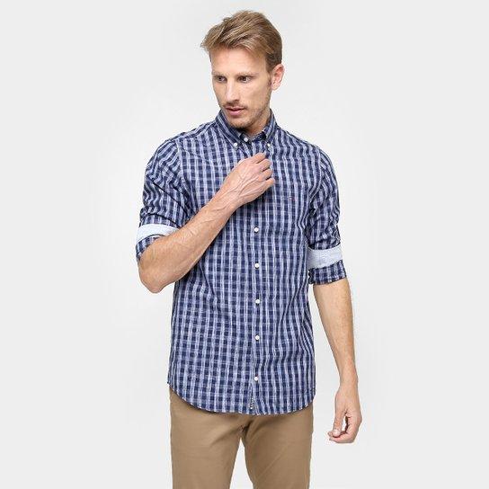 Camisa Tommy Hilfiger Regular Fit Xadrez Manga Longa - Compre Agora ... 27d71f4e4af8f