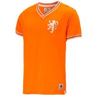 17d3569284bf6 Camisa Retrô Gol Seleção Holanda Away Edição Limitada Masculina