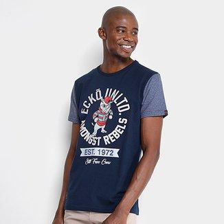 8b66352df037bd Camiseta Ecko Estampada Masculina