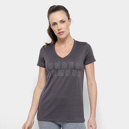 Camiseta Under Armour Tech Graphic Ssv Feminina