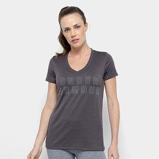 ebadb90e6b2 Camiseta Under Armour Tech Graphic Ssv Feminina