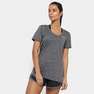 eb982ede46 Camiseta Under Armour Tech Twist V-Neck Feminina