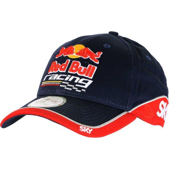 Boné Red Bull Sky Racing Ajustável - Azul Escuro - Compre Agora ... 71cf3e5cd26