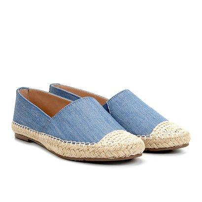 Alpargata Via Uno Jeans Corda Feminina