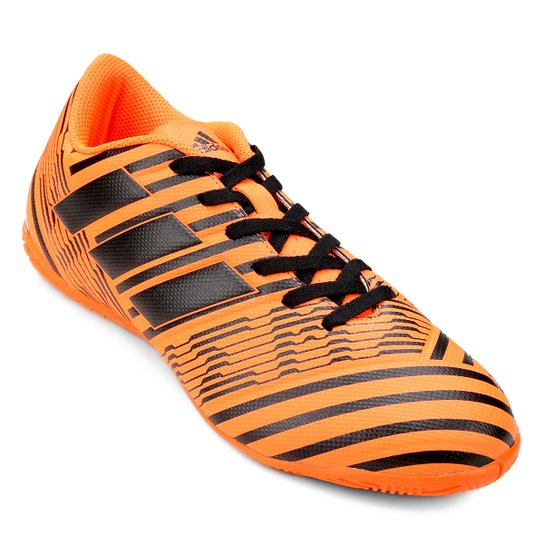 Chuteira Futsal Adidas Nemeziz 17.4 IN - Laranja - Compre Agora ... 8049bab20f0cf