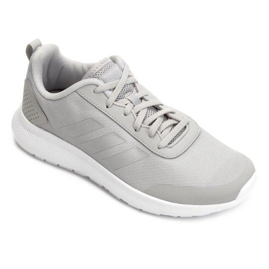 10866ddfd5 Tênis Adidas CF Element Race Feminino - Cinza e Prata - Compre Agora ...