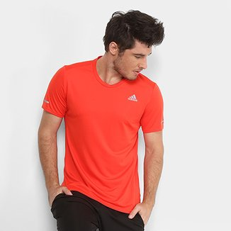 Compre Camisa Adidas Laranja Fluorescente Null Online  174d6f1103857