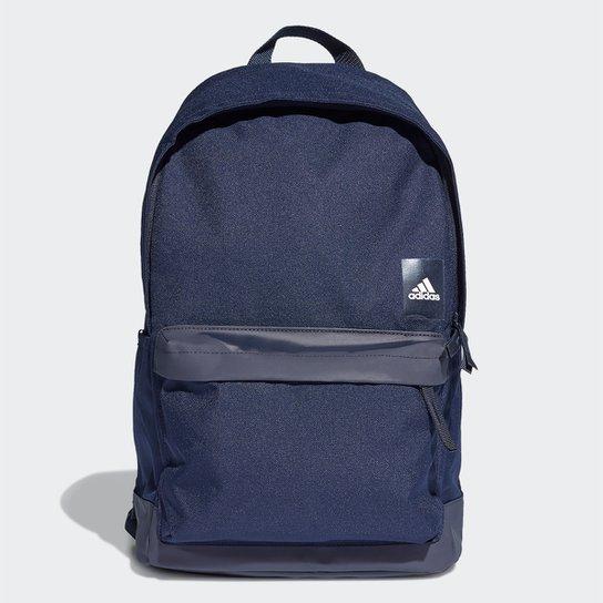 9a88d4eb867e2 Mochila Adidas Classic BackPack - Azul Escuro