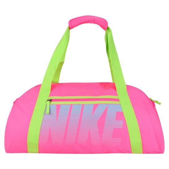 952821127 Bolsa Nike Gym Club - Rosa+Verde
