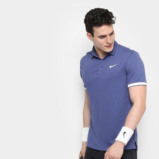 Camiseta Polo Nike Team Masculina - Azul Escuro - Compre Agora ... a2a1bede377aa