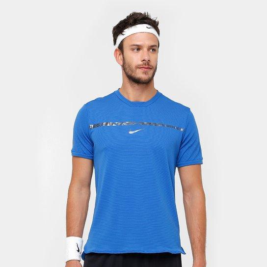 235db326cb Camiseta Nike Rafael Nadal AeroReact Challenge Masculino - Compre ...