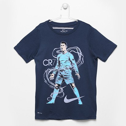 435639d56bc Camiseta Infantil Nike CR7 Hero