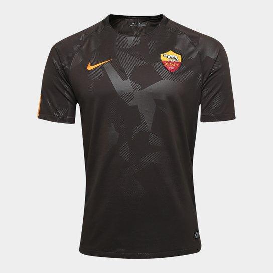Camisa Roma Third 17 18 s n° - Torcedor Nike Masculina - Compre ... 3686e5ebf26f5