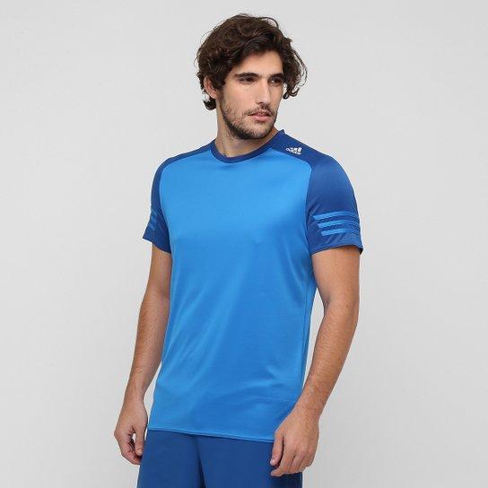 7b6e2a736ad0b Camiseta Adidas Response - Azul+Azul claro