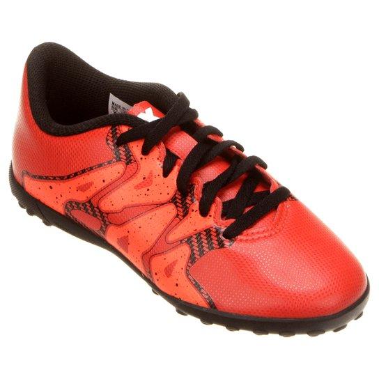 548a257ac7 Chuteira Adidas X 15.4 TF Society Juvenil - Laranja