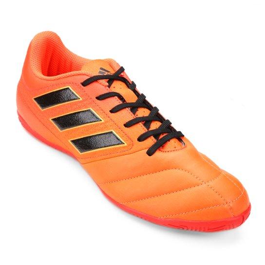 6bcee16cb8 Chuteira Futsal Adidas Ace 17.4 IN - Laranja