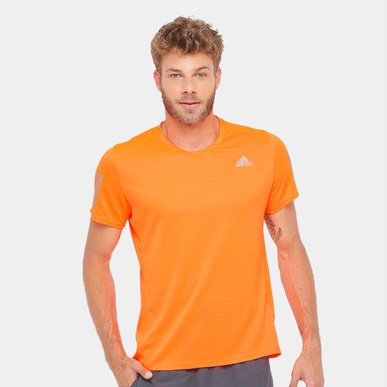 33748dd8b Camiseta Adidas Response ClimaCool Masculina - Laranja | Netshoes