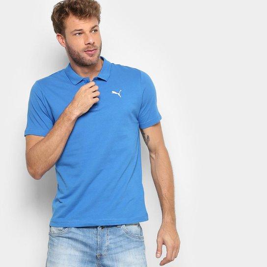 23602a8ef3 Camisa Polo Puma Ess Jersey Masculina - Azul Escuro - Compre Agora ...