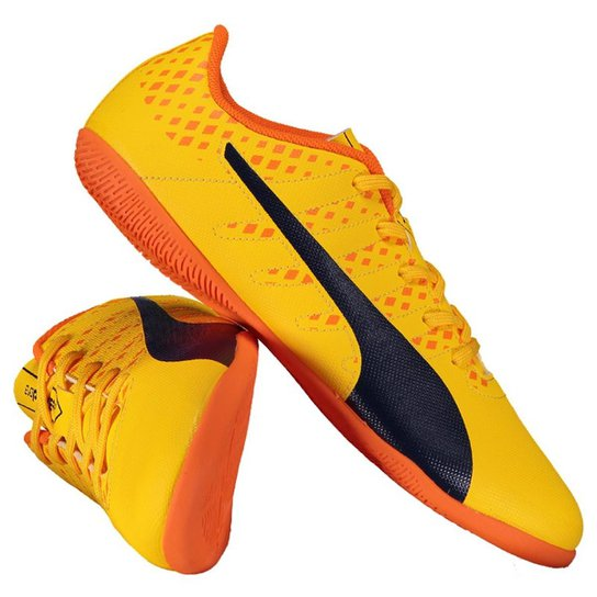 d3556f647d Chuteira Puma Evopower Vigor 4 IT Futsal Juvenil - Compre Agora ...