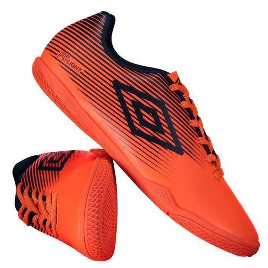 7a9383d242 Chuteira Futsal Umbro F5 Light - Laranja