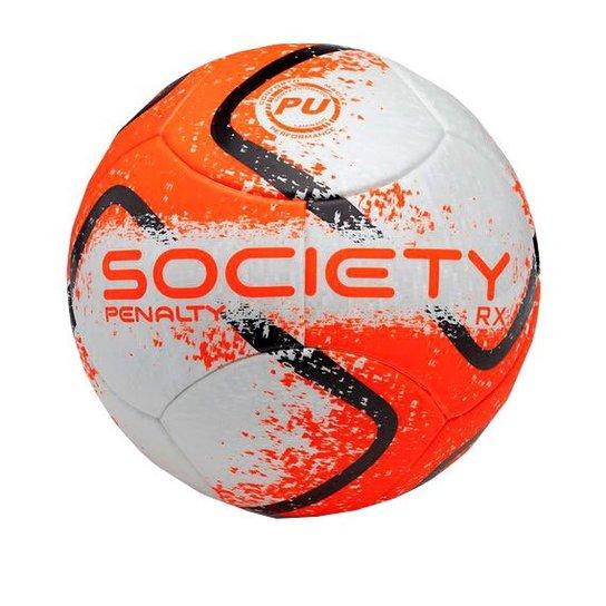 Bola Society Penalty RX Fusion - Laranja - Compre Agora  b5c4f5c3ef685
