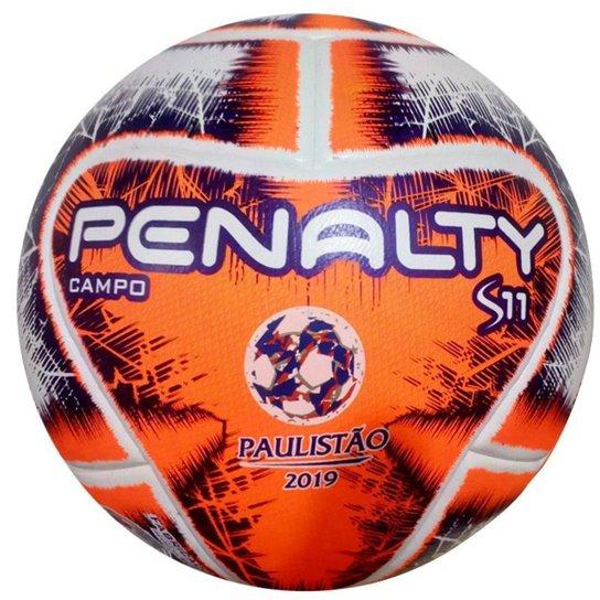 b3f3d65cd3 Bola Campo Penalty S11 R2 FPF IX 2019 - Laranja - Compre Agora ...