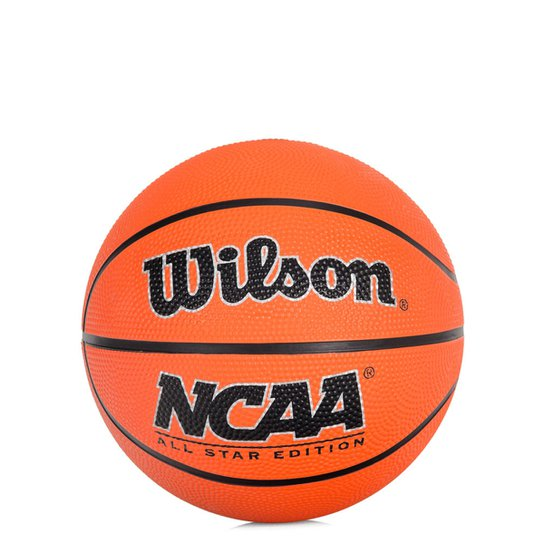Bola Wilson Basquete NCAA Mini 3 - Laranja e Marinho - Compre Agora ... c87fe64be5a07